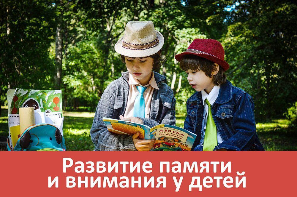 Интернет-курс развития памяти и внимания у детей 5-10 лет, упражнения, уроки, онлайн