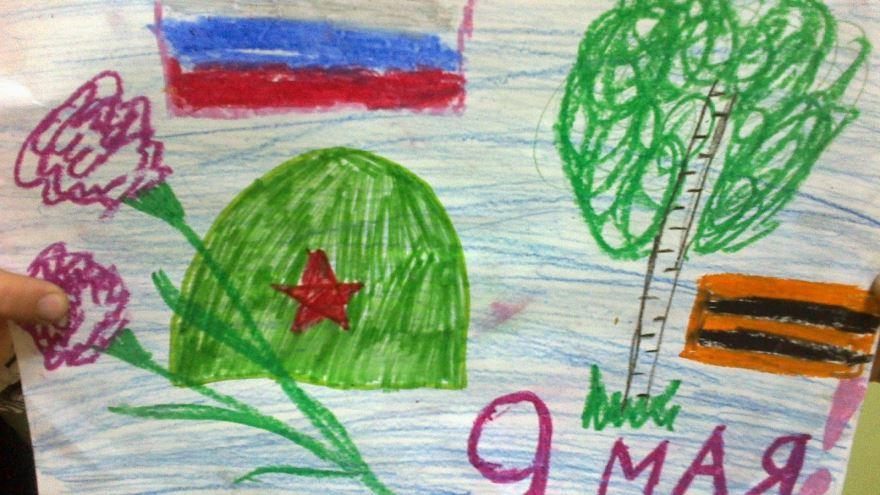 Открытки, картинки к 9 маю в детский сад
