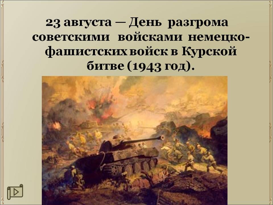 День Разгрома советскими войсками немецких войск