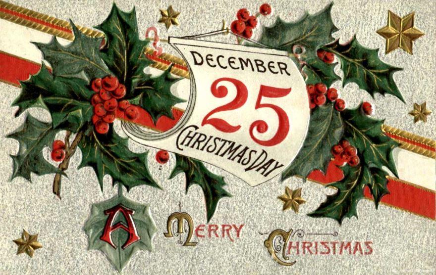 25 декабря какой праздник?