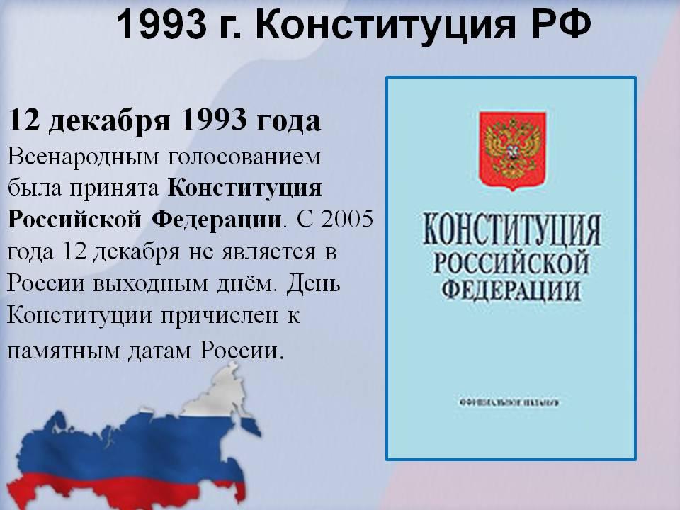 Поздравление с праздником - день конституции