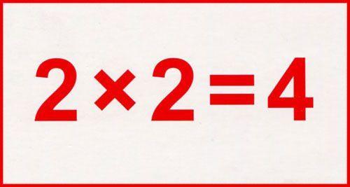 Умножение, умножение чисел