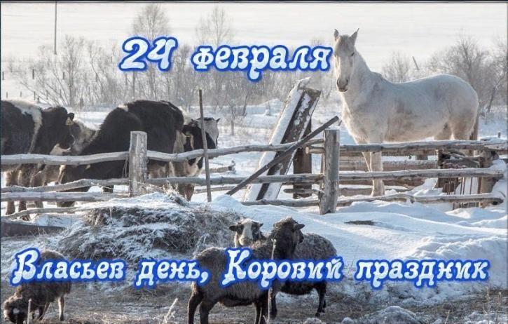 Какой праздник отмечают 24 февраля? Власьев день Коровий праздник