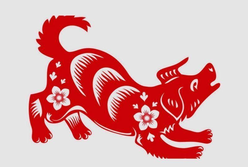 Празднуется год желтой (земляной) собаки