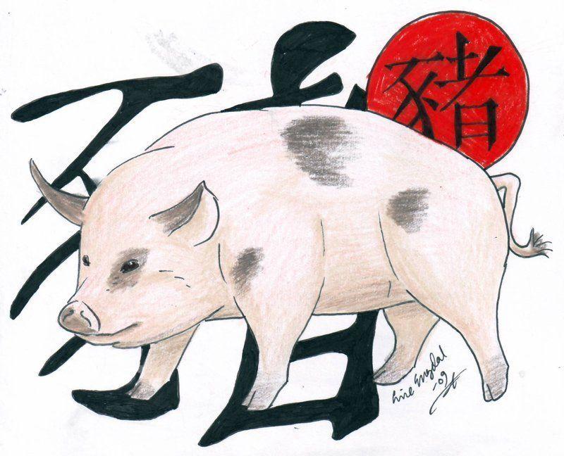 Год желтой свиньи 2019 по китайскому календарю