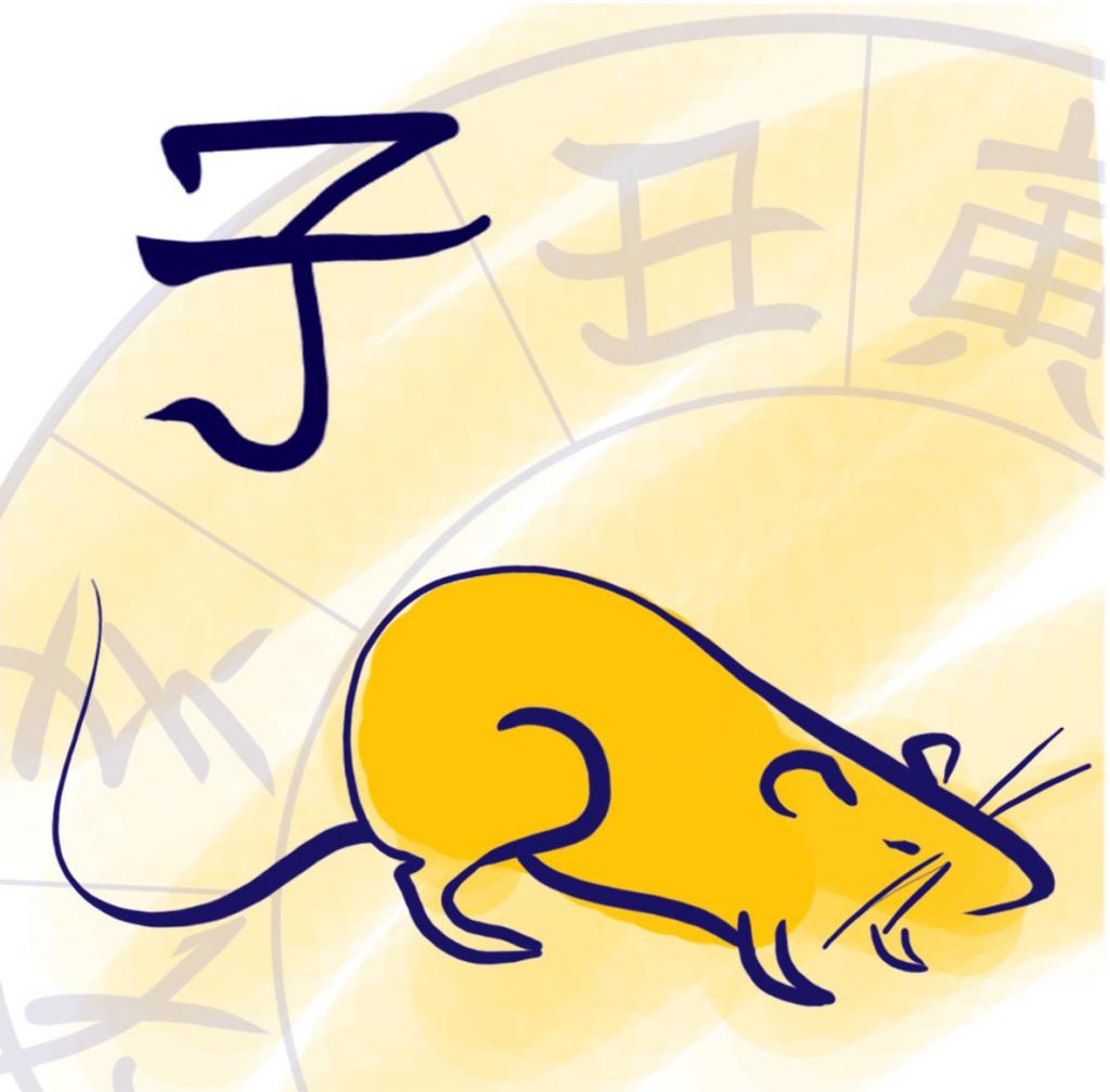 Новый 2020 год - год белой крысы