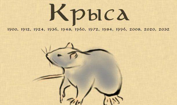 Год белой крысы 2020 по китайскому календарю