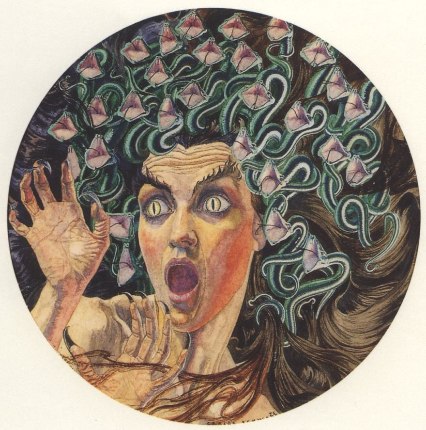 Качественные картинки медузы горгоны