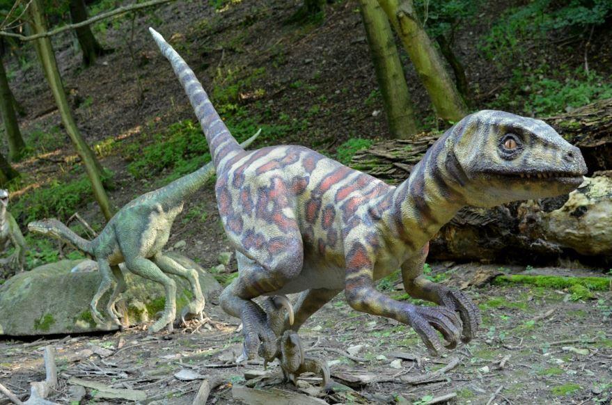 Фото настоящих динозавров в виде статуй