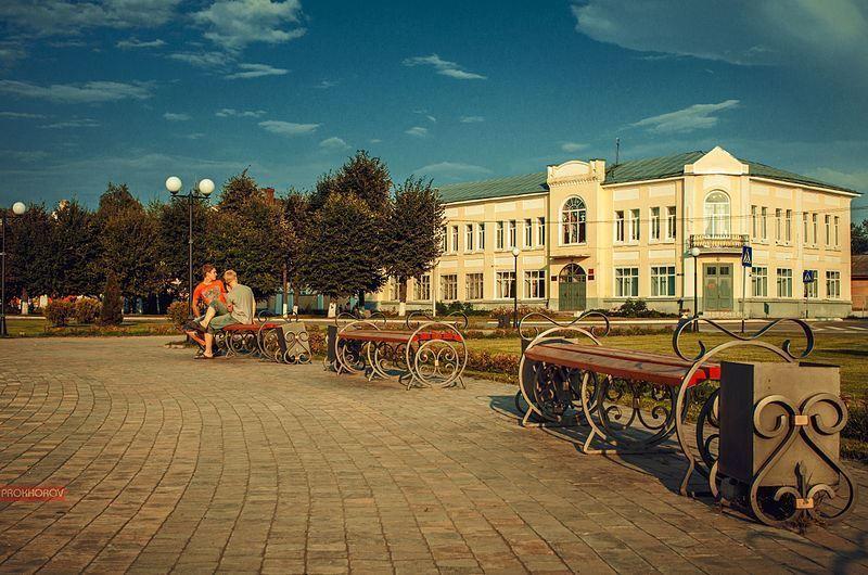Смотреть лучшее фото центральной площади города Буй