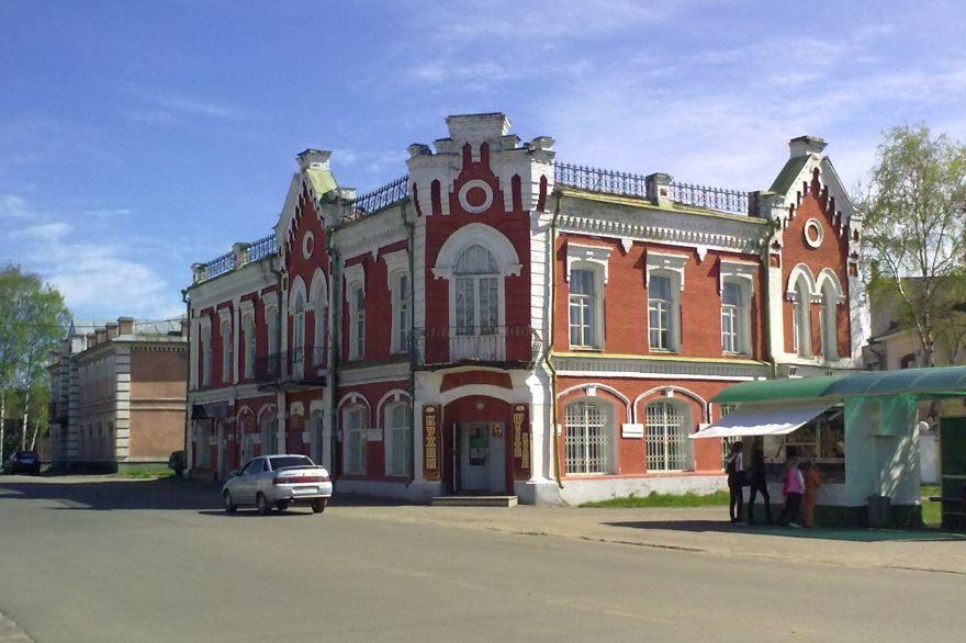 Смотреть красивое здание Дворянское собрание города Буй