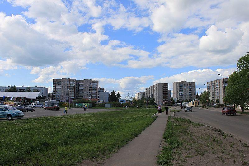Скачать онлайн бесплатно красивое фото города Великие Луки улица Вокзальная
