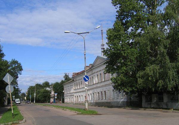 Скачать онлайн бесплатно красивое фото улицы Великого Новгорода