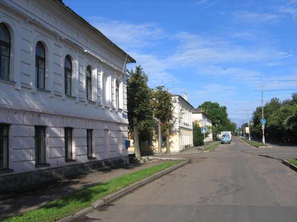Скачать бесплатно красивое фото улицы города Великий Новгород