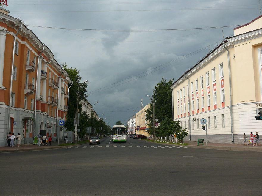 Смотреть старинные улицы города Великий Новгород