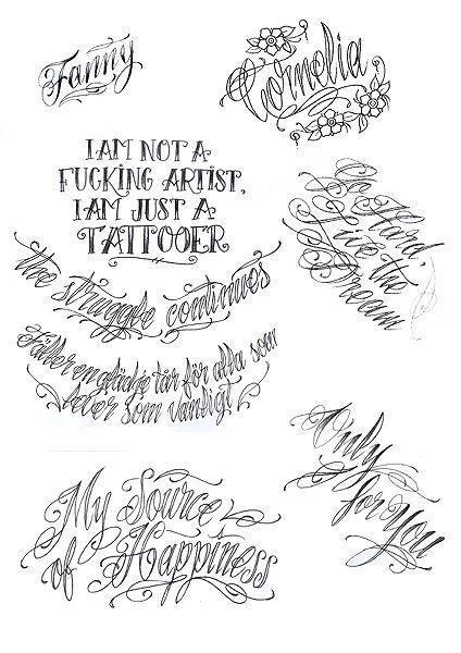 Эскизы надписей тату на руку для мужчин и женщин
