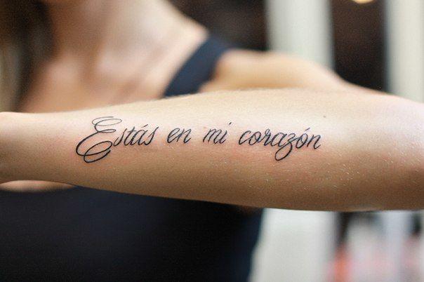 Тату надписи для девушки на руке