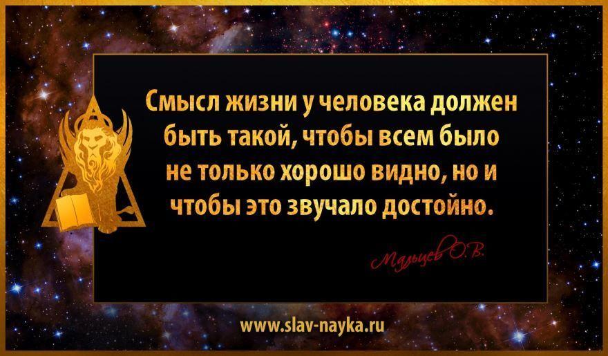 Умная цитата о смысле жизни