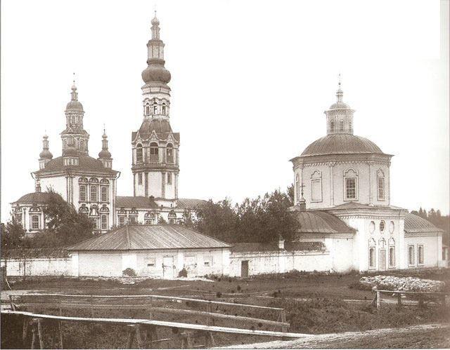 Смотреть красивое фото Покровский монастырь в Верхотурье Походяшинская церковь