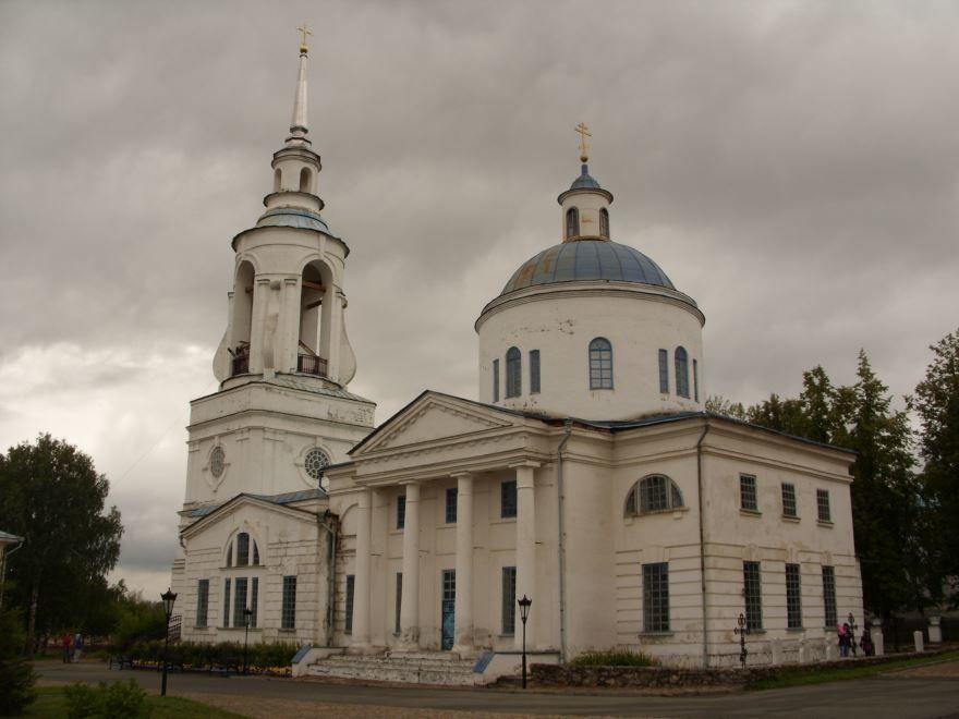 Преображенская церковь в городе Верхотурье