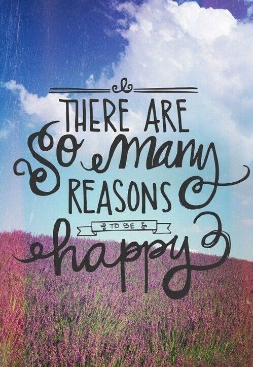 Короткие цитаты на английском про счастье с переводом: есть много причин чтобы быть счастливым