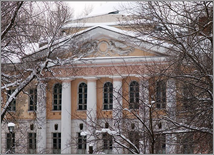Интересное фото Коноваловская больница города Вичуга