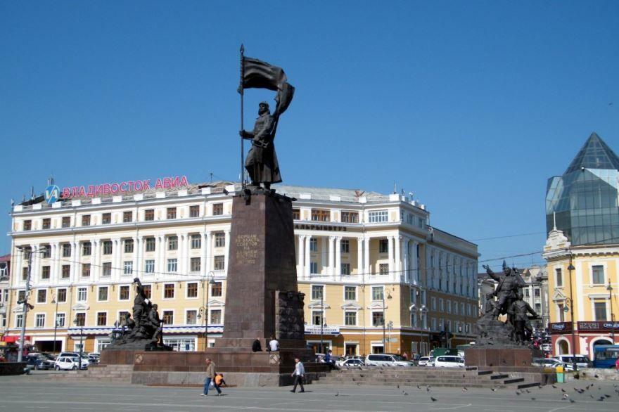 Скачать бесплатно красивое фото города Владивосток