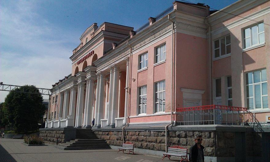 Железнодорожный вокзал города Владикавказ