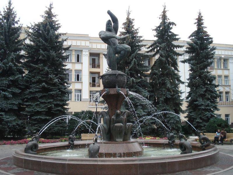 Памятник Давиду Сослан город Владикавказ