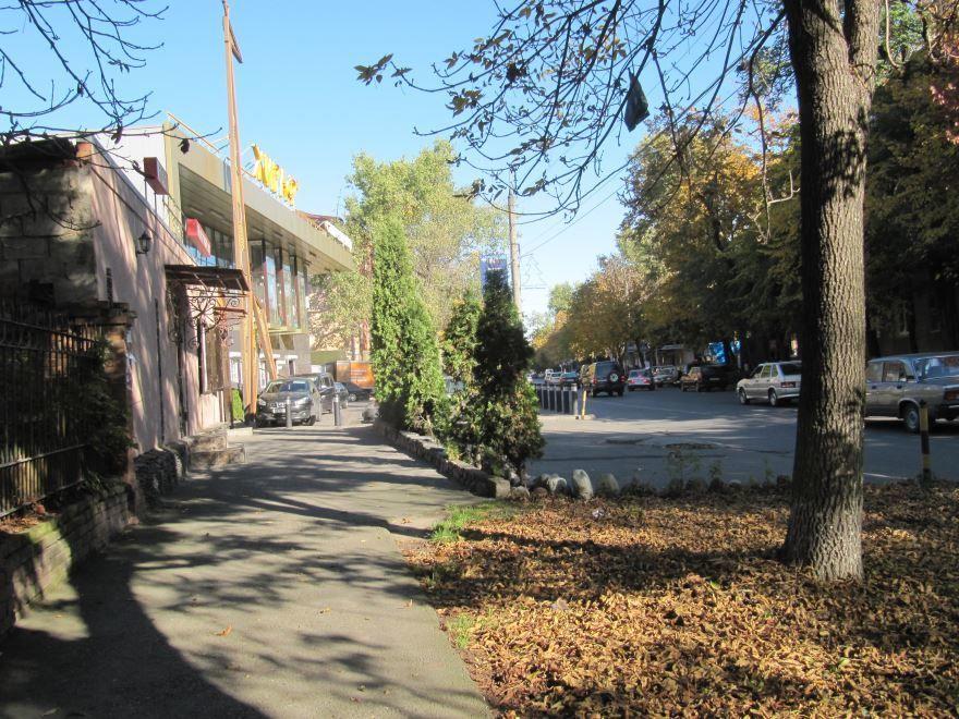 Смотреть красивую улицу города Владикавказ бесплатно