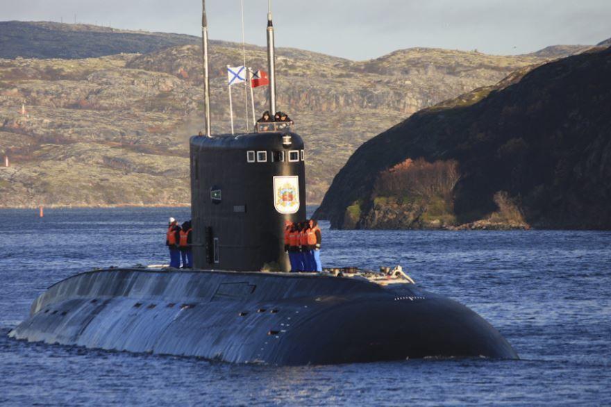 Город Владикавказ встреча подводной лодки