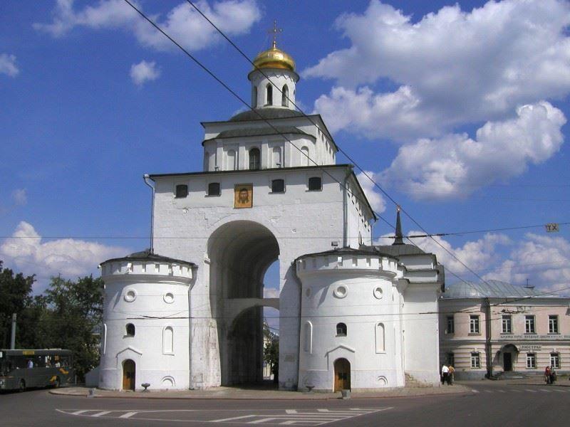 Золотые ворота города Владимир