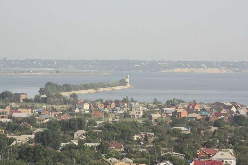Красивый вид города Волгодонск