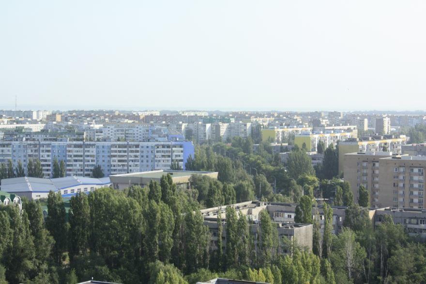 Красивый вид города Волгодонска