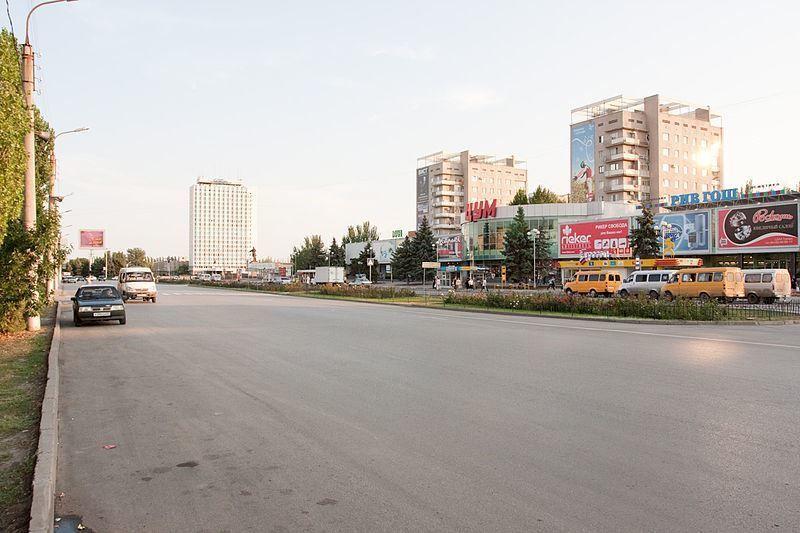 Смотреть красивое фото центр города Волжский