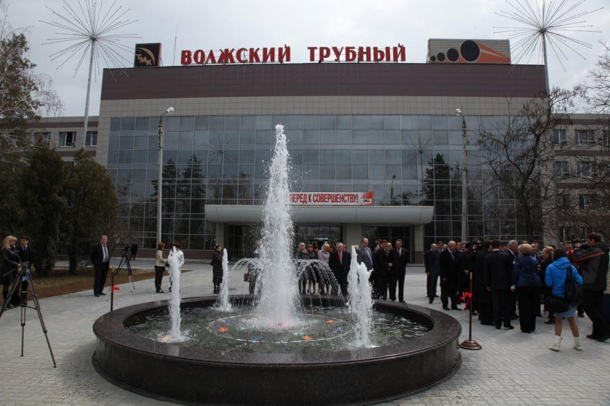 Фото Волжского трубного завода