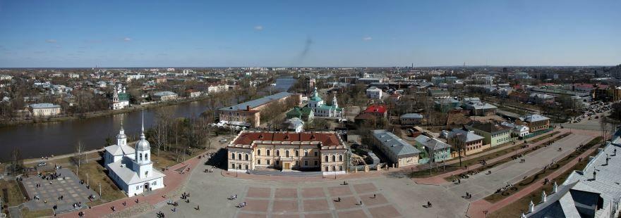 Смотреть красивое фото города Вологда в хорошем качестве