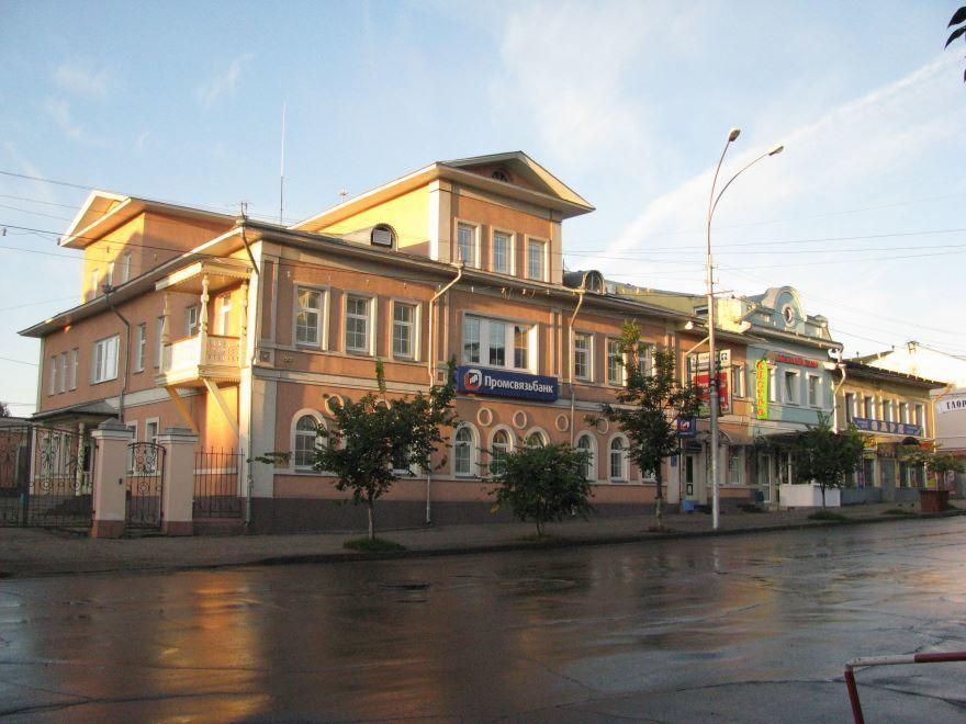 Улица Ленина в городе Вологда