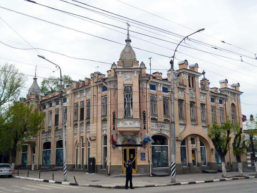 Смотреть лучшее фото города Вольск дом Сатова в хорошем качестве