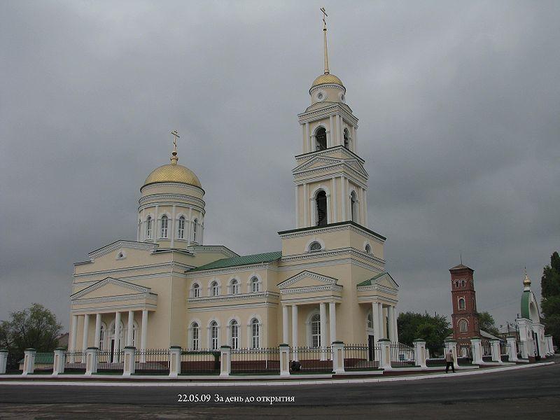 Смотреть лучшее фото Троицкого собора в городе Вольск Саратовской области