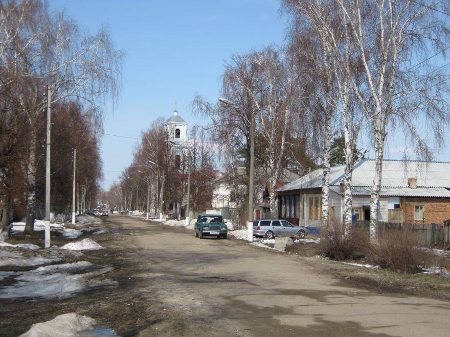 Смотреть лучшие фотографии улиц города Воскресенск бесплатно