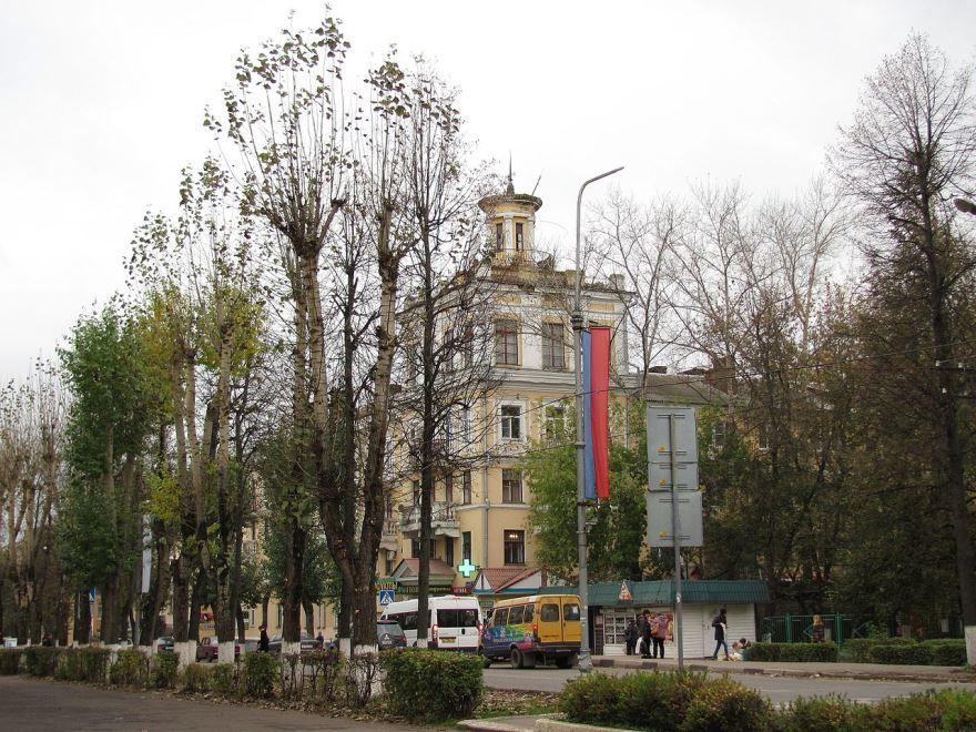 Скачать бесплатно красивые улицы города Воскресенск