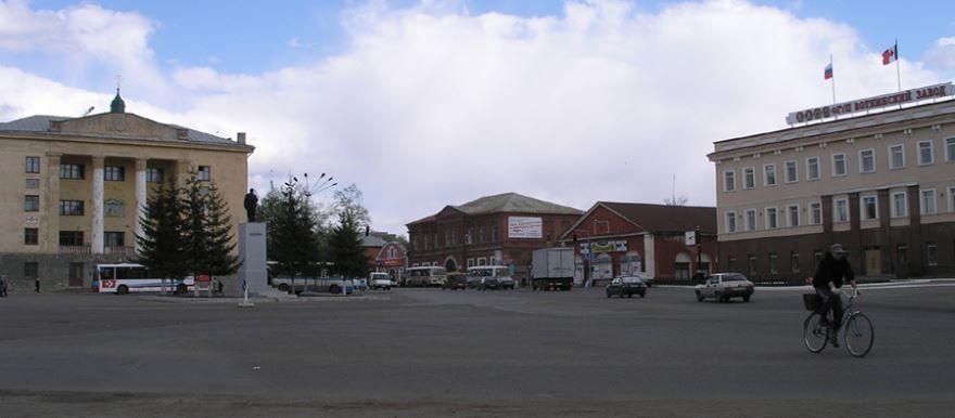 Смотреть красивое фото центр города Воткинска
