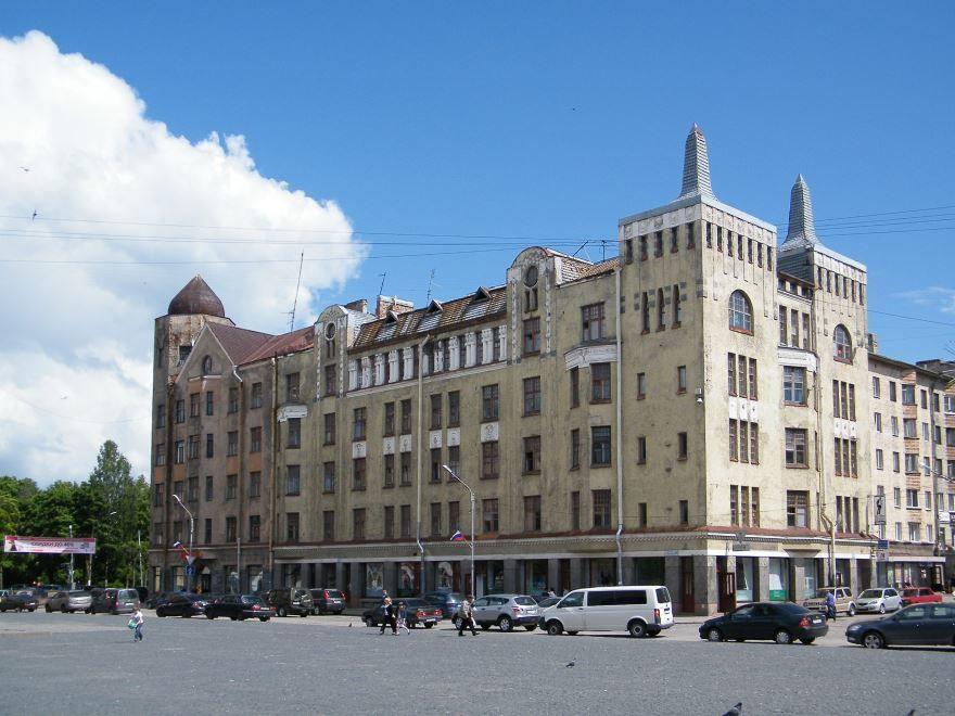 Смотреть лучшее фото дом Москвина город Выборг