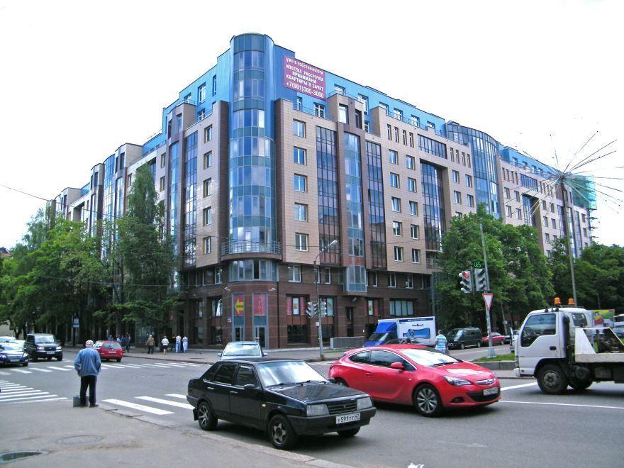 Современные улицы города Выборг