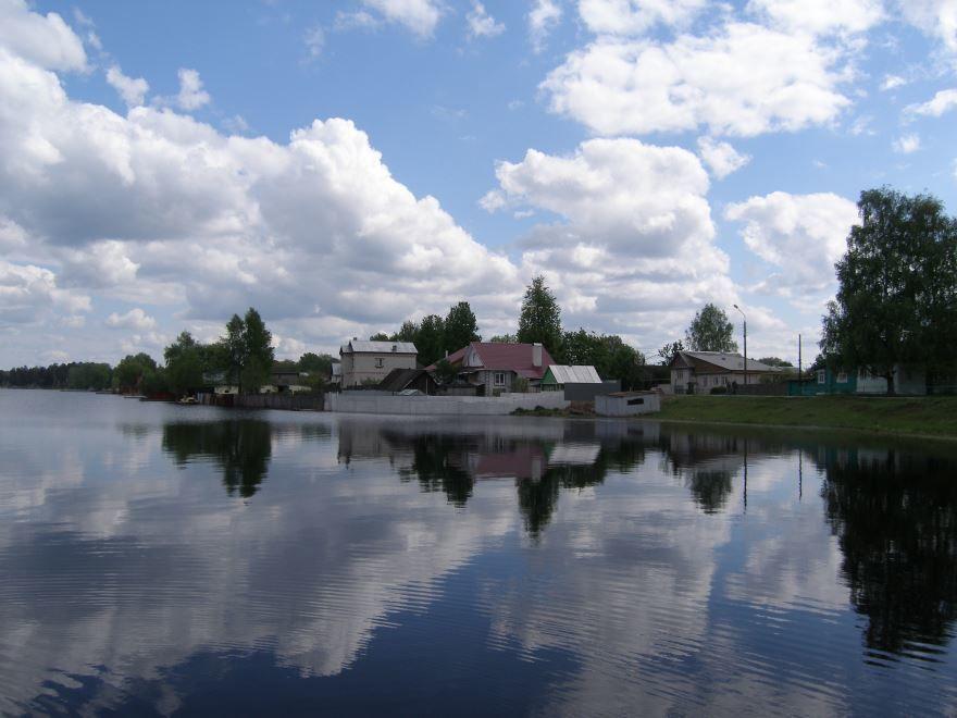 Скачать онлайн бесплатно красивое фото города Выкса