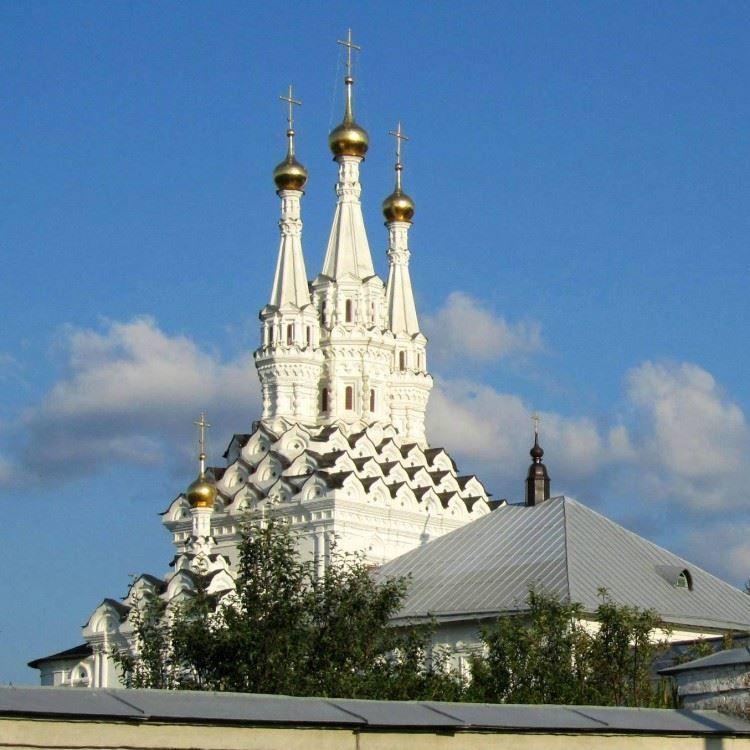 Смотреть красивое фото монастырь Иоанна Предтечи в городе Вязьма