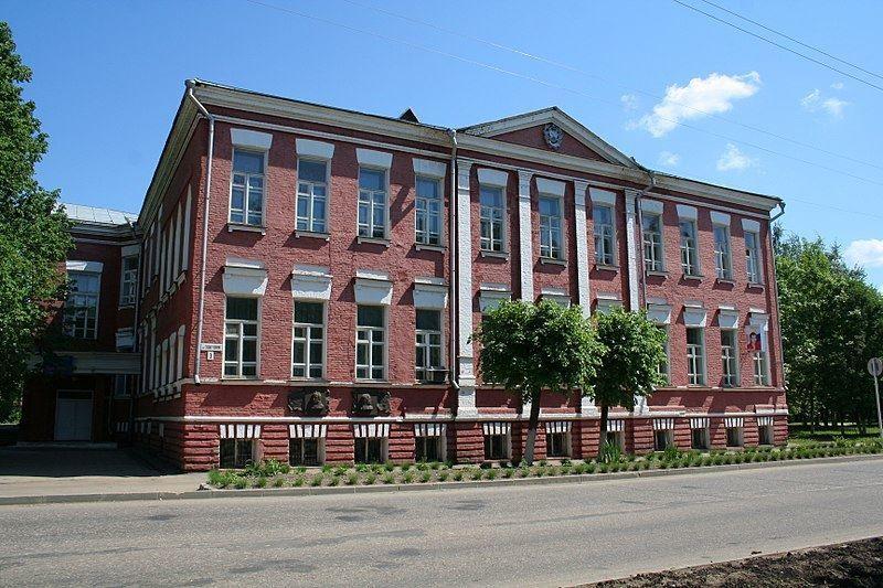 Скачать онлайн бесплатно лучшее фото дом купца Церевитина в городе Гагарин в хорошем качестве