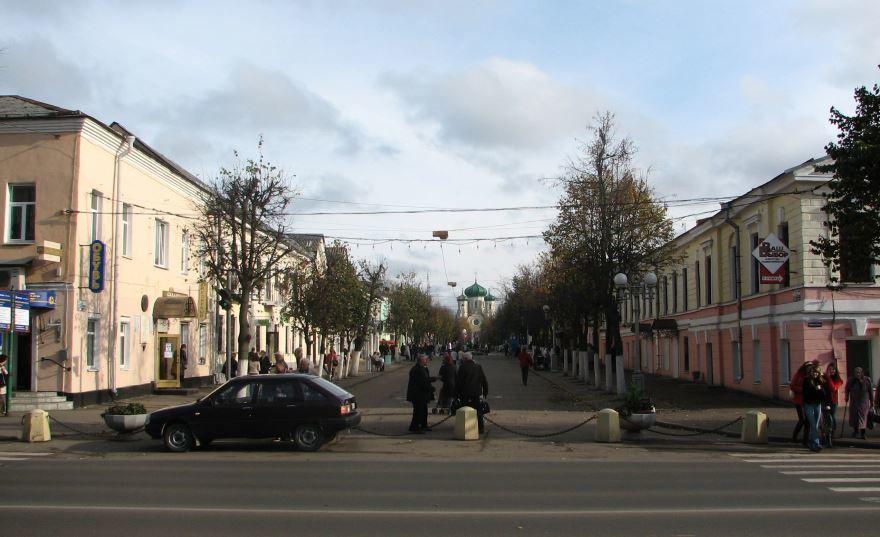 Смотреть лучшую Соборную улицу города Гатчина бесплатно