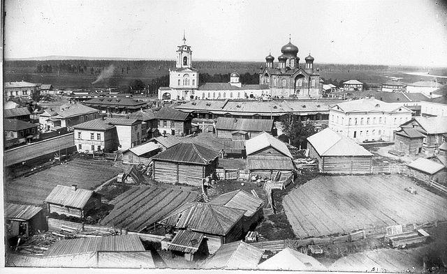 Смотреть оригинальное фото город Глазов 19 век